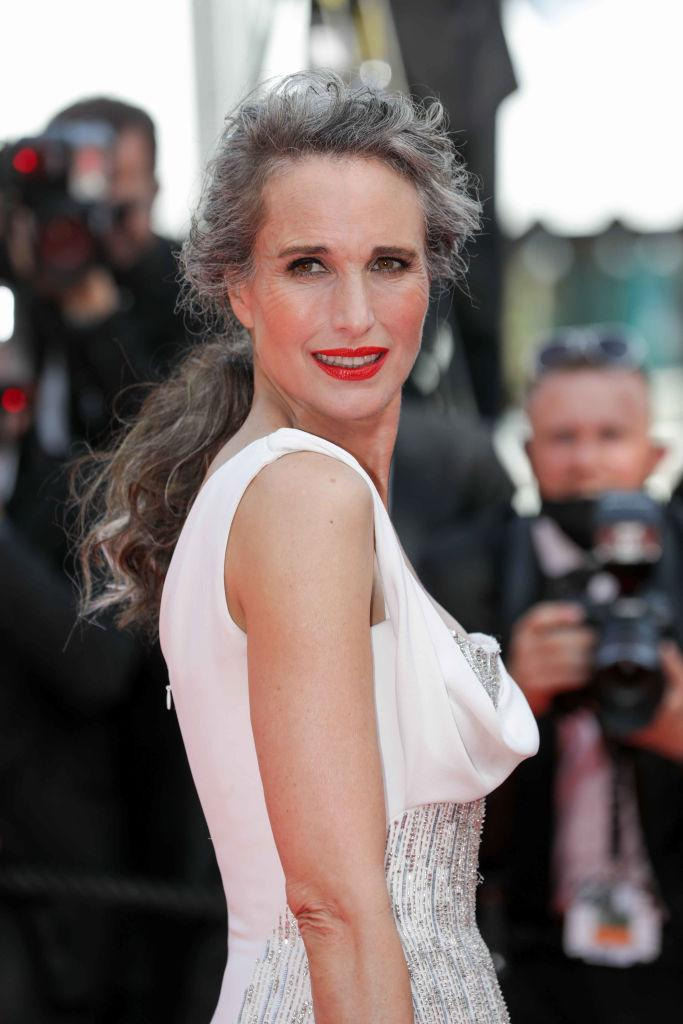 Andie MacDowell has dubbed herself a