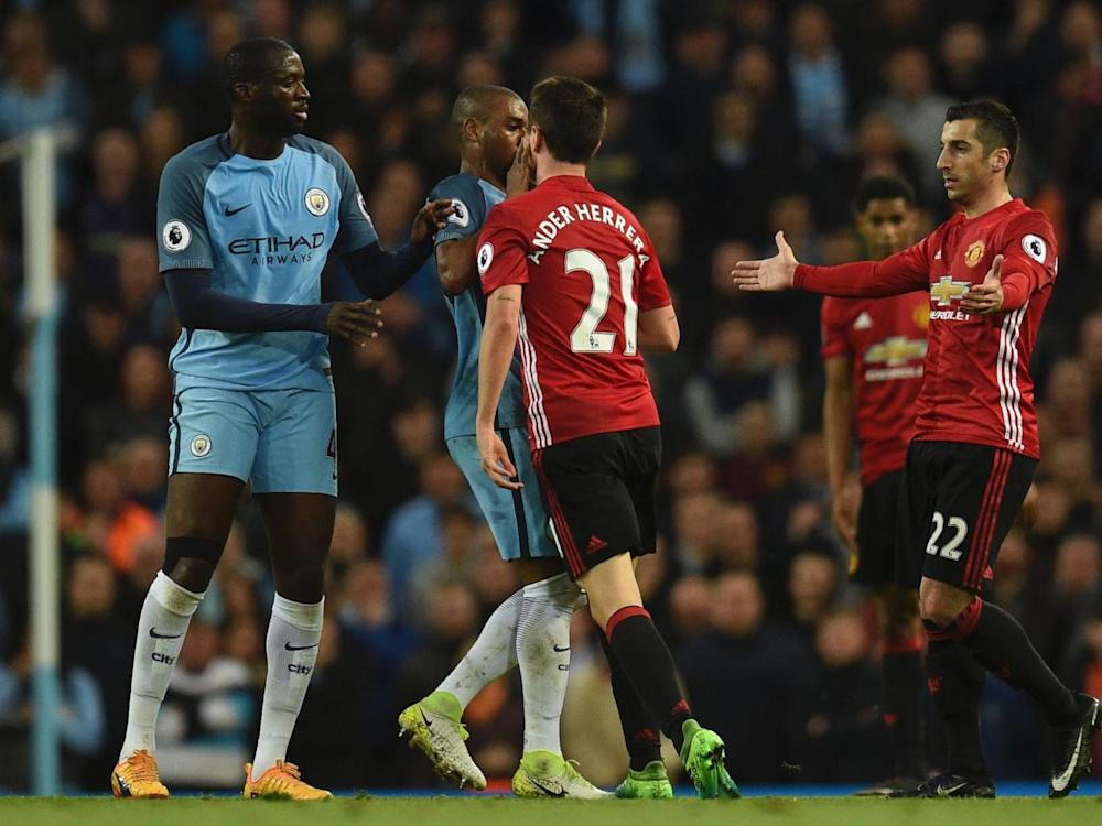 Things threatened to boil over at the Etihad (Getty)