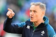 Joe Schmidt is a rugby anorak according to Brian O'Driscoll who played under him for Leinster and for the national team (AFP Photo/Vincenzo PINTO )