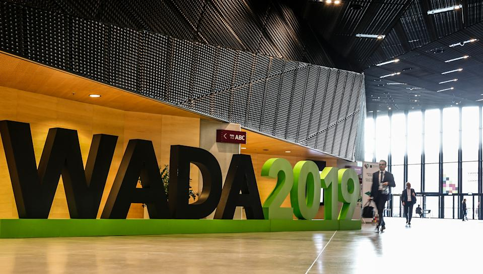 World Conference on Doping in Sport 2019, organised by World Anti-Doping Agency continues  in Katowice, Poland on November 6, 2019. Three days conference convenes world anti-doping stakeholders and aims to endorse new World Anti-Doping Code and International Standards as well as to elect a new WADA President and Vice-President. (Photo by Dominika Zarzycka/NurPhoto via Getty Images)