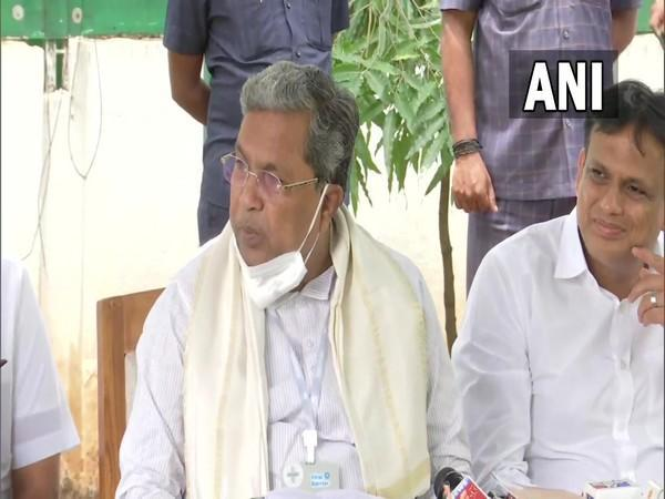 Leader of the Opposition in Karnataka Assembly and former Chief Minister Siddaramaiah (Photo/ANI)