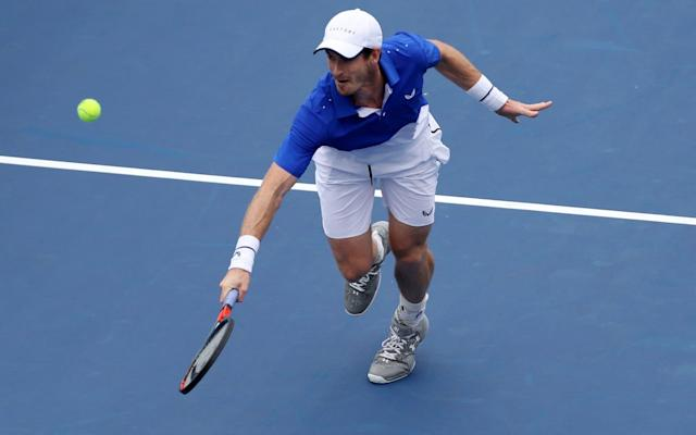 Andy Murray will drop down a level in the hope of reigniting his singles' career - Getty Images North America