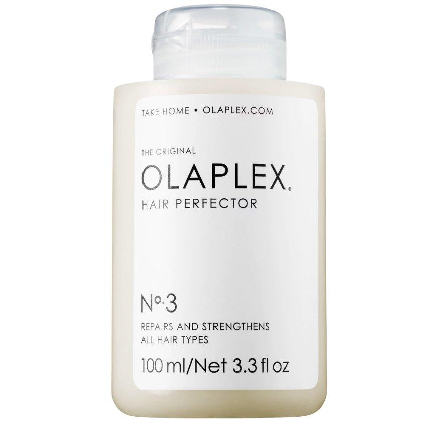 "<p>If you think you've heard the word ""Olaplex"" around your salon, you're not wrong. Your colorist is probably referring to a professional-grade hair treatment designed to relink the broken bonds that chemical treatments, like bleaching or dying your hair, cause. The brand formulated an at-home system with that very same active ingredient that saves your hair from damage. All you have to do is soak towel-dried hair in the formula for 10 minutes max and then rinse. </p>"