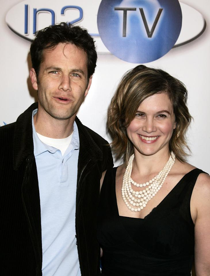 Actor Cameron and actress Gold at the In2Tv launch party in Beverly Hills.