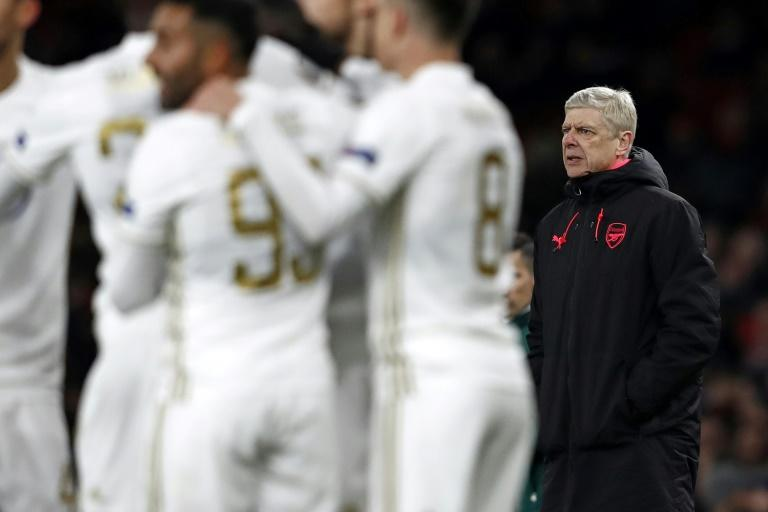 There have been calls for the Arsenal manager Arsene Wenger, pictured in February 2018, to be replaced at the end of the season