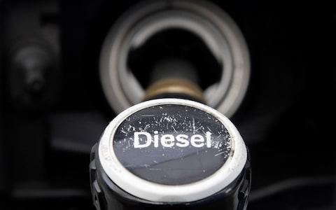 diesel fuel pump - Credit: Reuters