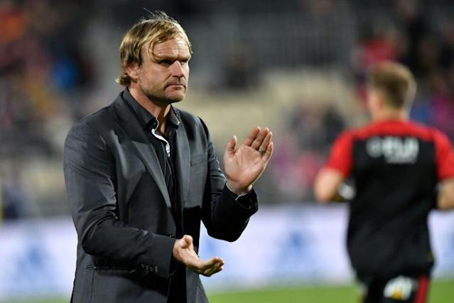 Special week: Canterbury Crusaders head coach Scott Robertson (AFP Photo/Marty MELVILLE)