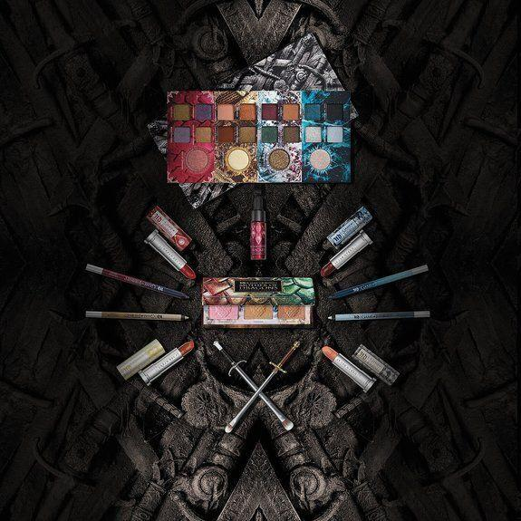 The makeup range also includes highlighter, eyeliner pencils and lipsticks. [Photo: Urban Decay]