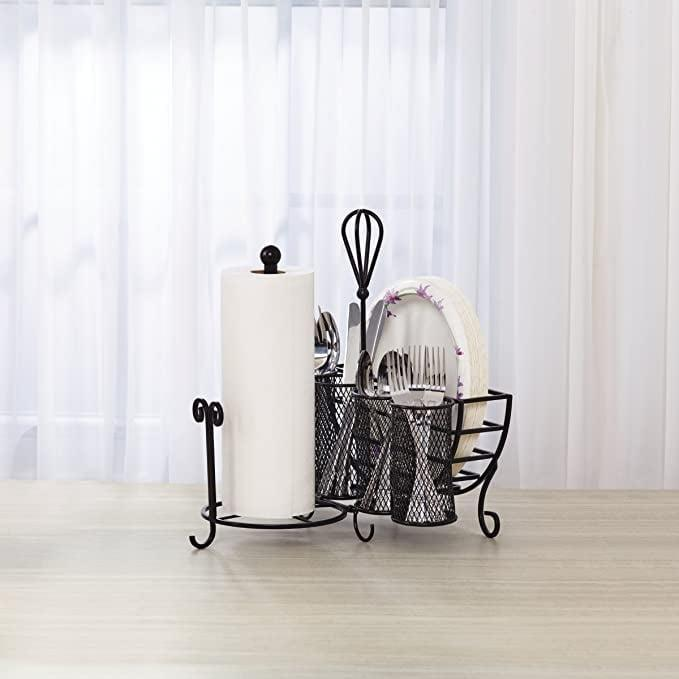 <p><span>Gourmet Basics by Mikasa Avilla Storage Caddy with Paper Towel Holder</span> ($24, originally $40)</p>