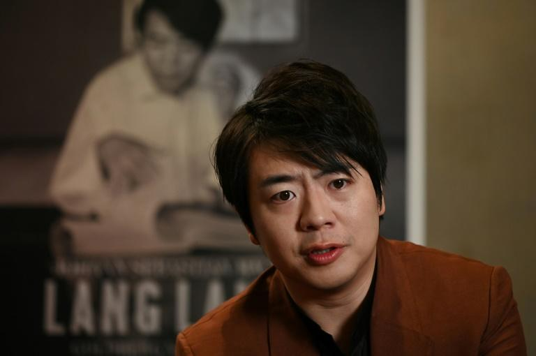 Chinese pianist Lang Lang says Bach the remedy for troubled times