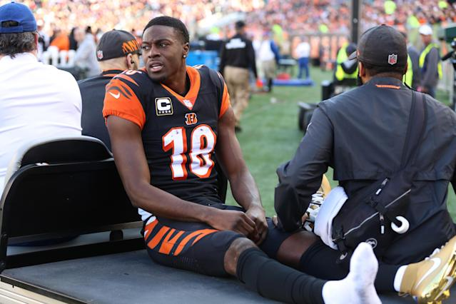 Injuries have stolen much of the past few seasons from A.J. Green. (Photo by Ian Johnson/Icon Sportswire via Getty Images)