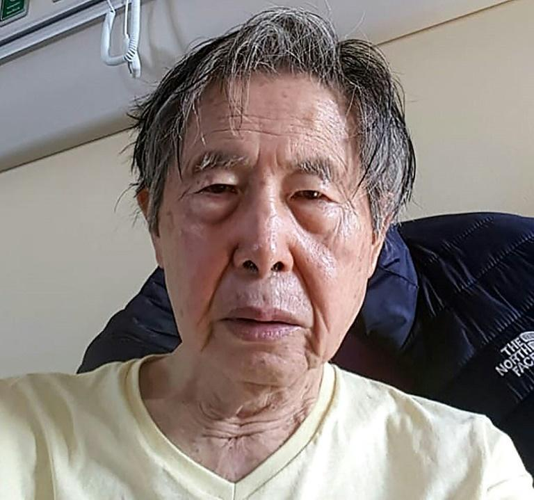 Handout image from the Fujimori family as ex president tries to avoid prison