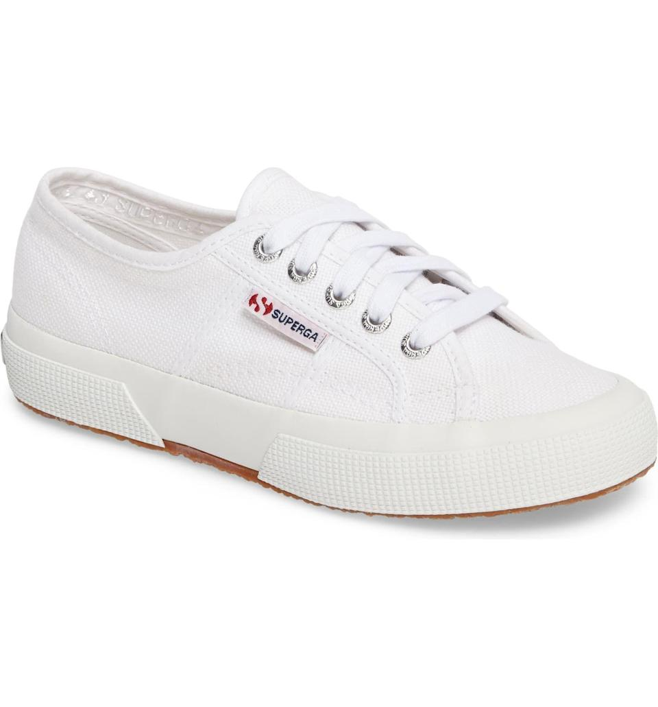 "<p><strong>SUPERGA</strong></p><p>nordstrom.com</p><p><a href=""https://go.redirectingat.com?id=74968X1596630&url=https%3A%2F%2Fwww.nordstrom.com%2Fs%2Fsuperga-cotu-sneaker-women%2F3284914&sref=https%3A%2F%2Fwww.harpersbazaar.com%2Ffashion%2Ftrends%2Fg34042658%2Fnordstrom-sale-kate-middleton-supergas%2F"" rel=""nofollow noopener"" target=""_blank"" data-ylk=""slk:SHOP NOW"" class=""link rapid-noclick-resp"">SHOP NOW</a></p><p><strong><del>$65</del></strong> <strong>$48.71 (</strong><strong>25% off</strong>)</p><p>Kate Middleton has worn Superga's classic Cotu sneaker on repeat as far back as her 2016 royal tour of Canada. The canvas sneaker can be found on sale from time to time, but scoring a pair for under $50 is a feat to feel proud of. </p>"