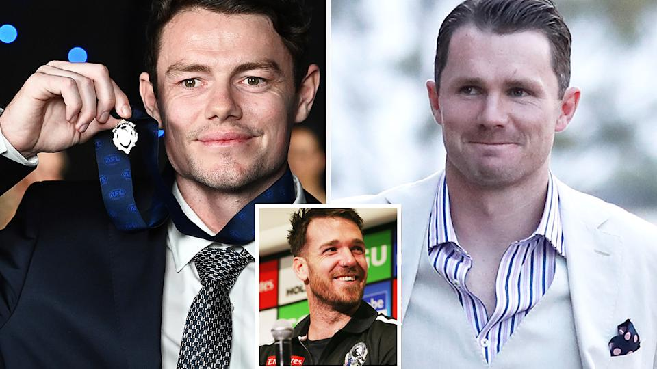 Brisbane's Lachie Neale and Geelong's Patrick Dangerfield both were mocked by former Collingwood star Dane Swan on Sunday night.