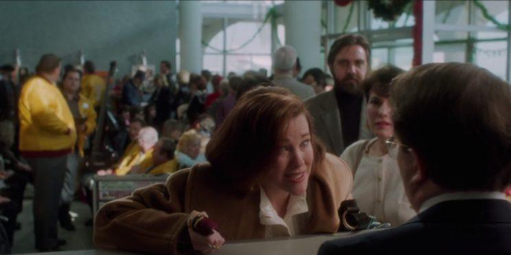 Catherine O'Hara and maybe Elvis in Home Alone [Image via Warner Bros]