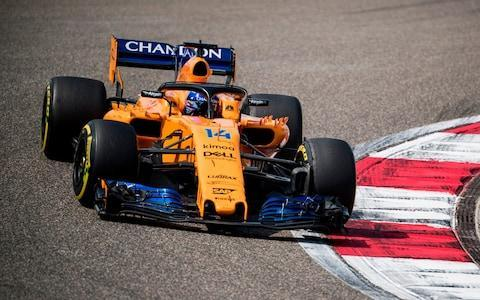 <span>Fernando Alonso again had a strong race, finishing seventh in China</span> <span>Credit: AFP </span>