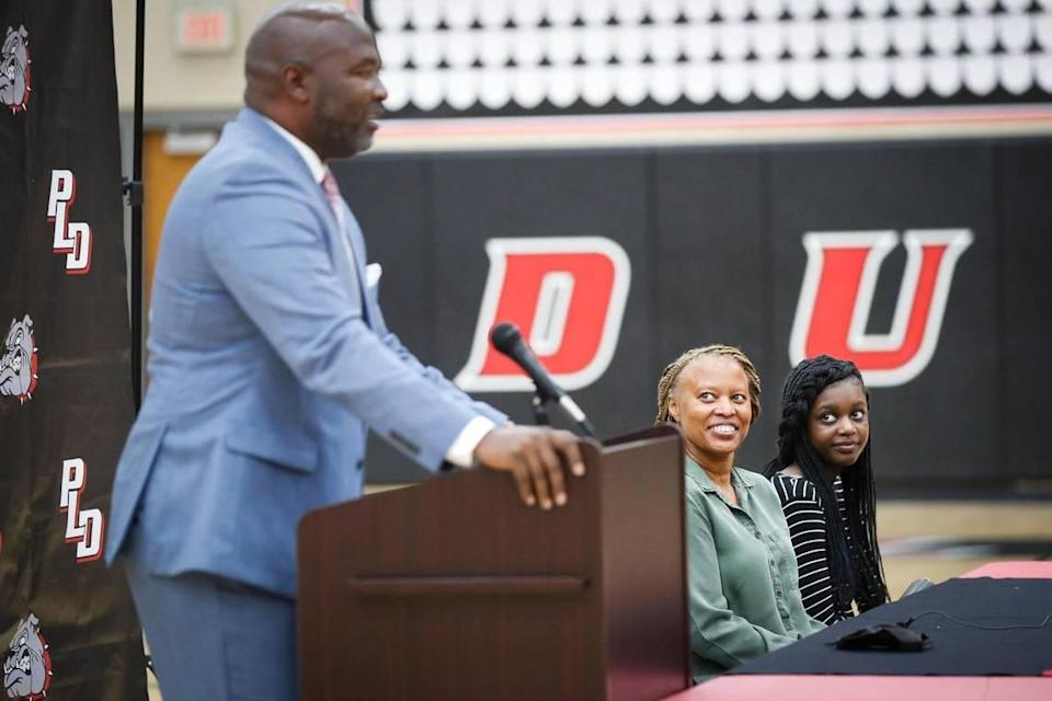 """""""I wouldn't have come back for just any high school job, but the opportunity to serve here Paul Laurence Dunbar as the head boys' basketball coach was something that I only dreamed about,"""" new Paul Laurence Dunbar coach Murray Garvin said."""