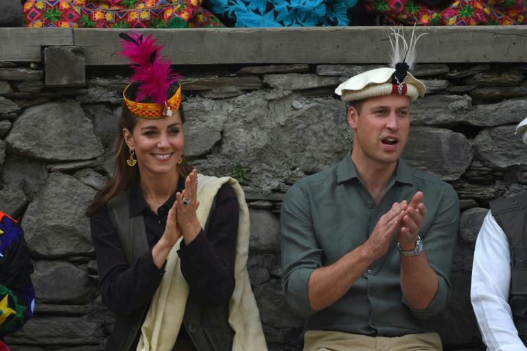 The Duke and Duchess of Cambridge spent the afternoon witnessing the effects of climate change on the Kalash, Pakistan's smallest religious minority
