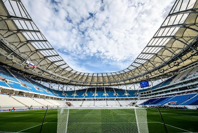 England play their opening World Cup match against Tunisia in Volgograd on June 18 (AFP Photo/Mladen ANTONOV)