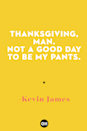 <p>Thanksgiving, man. Not a good day to be my pants.</p>