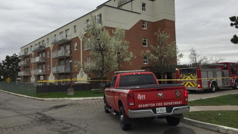 Man, 71, dead in fire at Brampton seniors home
