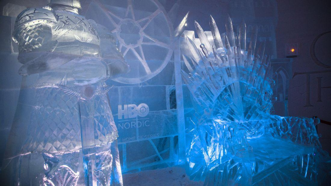<p>An ice hotel fitted out with an iron throne and white walkers carved out of ice, has popped up in Finland thanks to a genius collaboration between HBO and Lapland Hotels.</p>