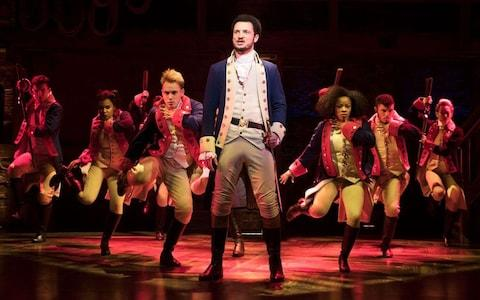 Hamilton at the Victoria Palace theatre - Credit: Mathew Murphy