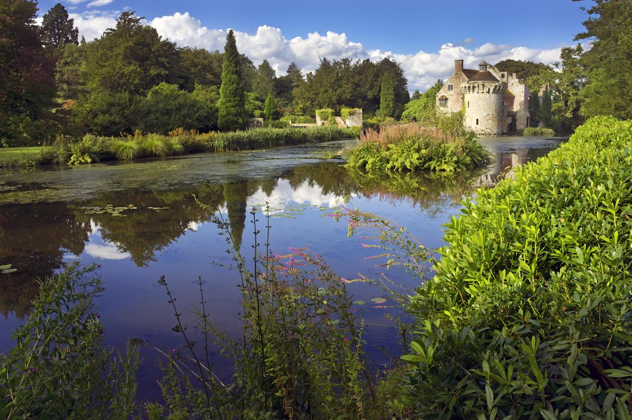 Scotney Castle is an English country house built back in the 14th century (Getty Images)