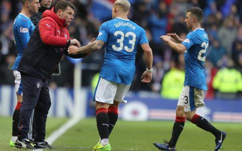 """Graeme Murty declared himself ready and capable of becoming Rangers' next manager, if the Ibrox directors rate him in his second spell as interim manager. The 42-year-old former Scotland, Southampton and Reading defender is in fourth place at 8-1 in the bookies' odds, with Derek McInnes still front-runner, despite a dramatic repricing of David Moyes from 20-1 outsider to 9-2 second favourite, and Alan Pardew in third place. Murty, though, has already produced notable results, like the 1-1 draw at Celtic Park in March when he acted as caretaker between the tenures of Mark Warburton and Pedro Caixinha. When Murty took over from Caixinha last week, he supervised a 3-1 victory over Hearts at Murrayfield. Asked if he felt he could handle the position on a longer basis, Murty replied: """"If the board said, 'Graeme, it's yours. Take it' – fantastic, great. I might even crack a smile! You would be crazy to turn this job down. """"For all that it's a high-powered and high-pressured job, and very much in the media spotlight, I have said before that this is one of the stellar jobs in British football. You can't turn it down, as I couldn't turn it down when the board said to me: 'Would you step up?' """"Actually, this week has been really enjoyable. It's been bright and it's been a real pleasure to get on the training pitch and get to know the players better. """"It is a bit different from last time because I'm having to build new relationships with people I didn't previously know. There can be a disconnect when that happens so it's up to the staff that we make them as comfortable as possible and get to know them as people, and not just as players. Murty first took charge after Mark Warburton left and supervised a draw with Celtic Credit: Andrew Milligan/PA Wire """"I've had a good chat with a few of them. They now know how I like to work. They've sat in with me and know the standards I like. I believe they've understood what I am about."""" Rangers host Partick Thistle on Saturday at Ibrox, wh"""