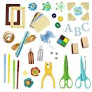 <p>While there are craft supplies galore at Target, we'd recommend taking home one of their cute DIY sets and purchasing your crafting tools and accessories at discount craft stores. </p>