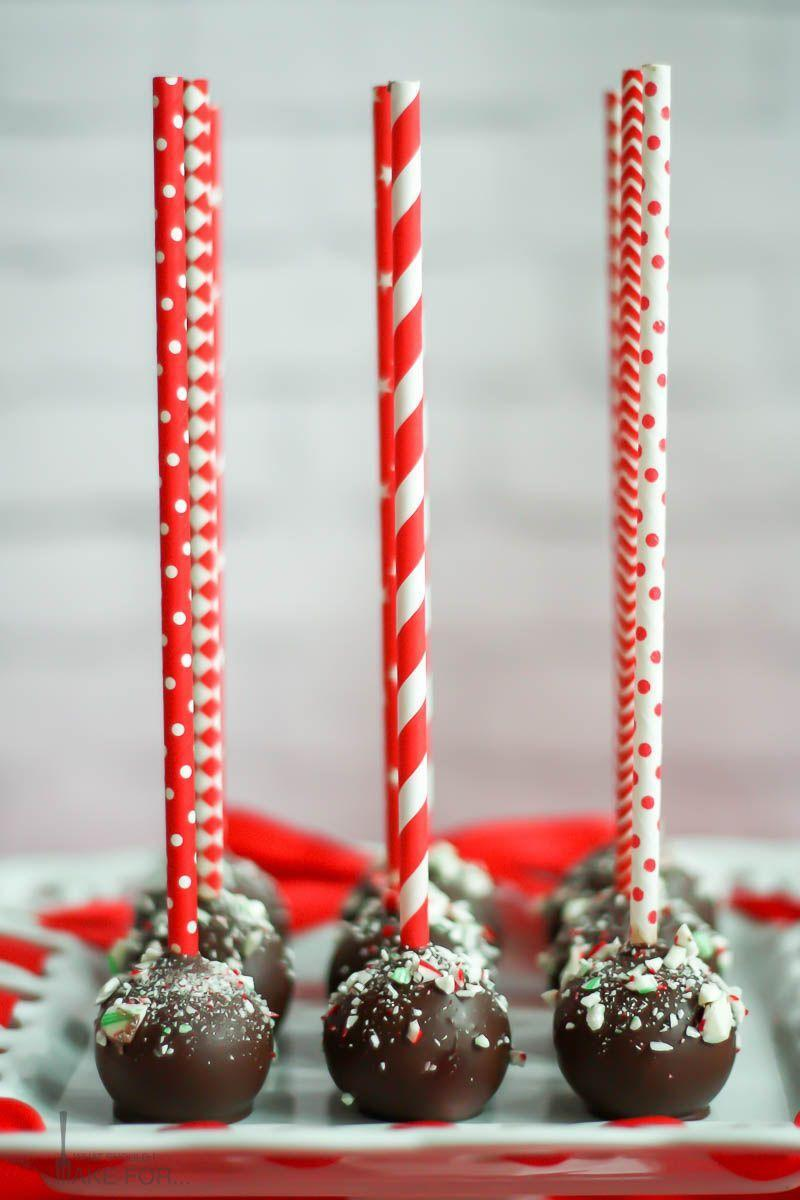 """<p>A chocolate peppermint cake, mixed with a cream cheese frosting, and finished with dark chocolate and crushed candy canes? Yep, sounds like a treat we don't want to miss!</p><p><strong>Get the recipe at <a href=""""https://whatshouldimakefor.com/chocolate-peppermint-cake-pops/"""" rel=""""nofollow noopener"""" target=""""_blank"""" data-ylk=""""slk:What Should I Make For..."""" class=""""link rapid-noclick-resp"""">What Should I Make For...</a></strong></p><p><a class=""""link rapid-noclick-resp"""" href=""""https://www.amazon.com/Hamilton-Beach-62682RZ-Mixer-Snap/dp/B001CH0ZLE?tag=syn-yahoo-20&ascsubtag=%5Bartid%7C10050.g.22841709%5Bsrc%7Cyahoo-us"""" rel=""""nofollow noopener"""" target=""""_blank"""" data-ylk=""""slk:SHOP HAND MIXERS"""">SHOP HAND MIXERS</a></p>"""