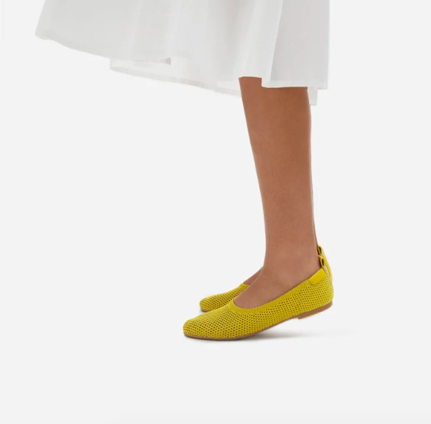 Everlane's new mesh shoes are perfect for sticky summer weather.