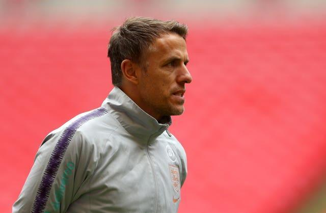 The FA in April 2020 announced Neville would be leaving his job in July 2021, at the end of his contract (Steven Paston/PA)