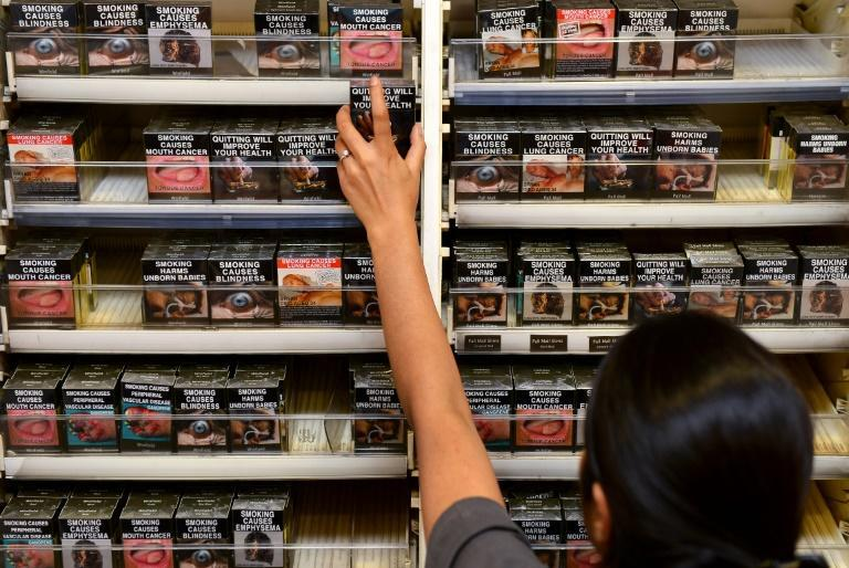 'Neutral' packets were introduced in Australia in 2012 with the aim of deglamourising smoking. (File photo: AFP)