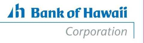 Bank of Hawaii Corporation Conference Call to Discuss Second Quarter 2020 Financial Results
