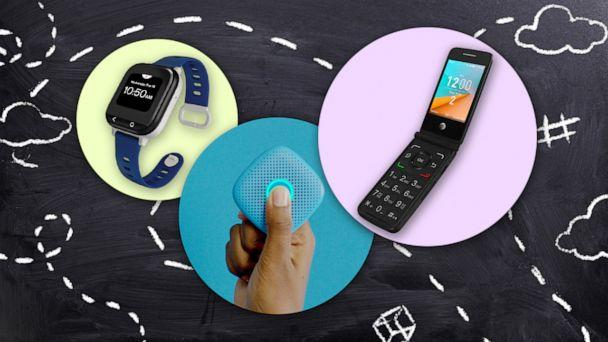 PHOTO: We tried 3 tracking devices for kids (ABC Photo Illustration)