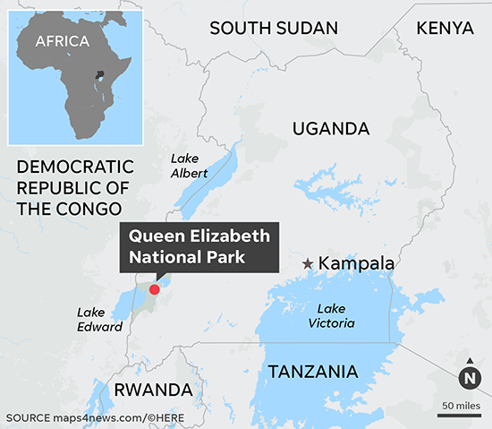 Kidnapped American tourist, guide rescued by security forces in Uganda