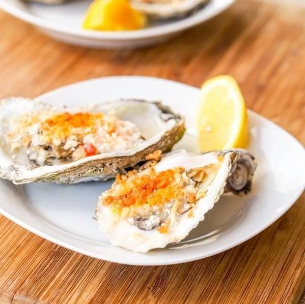 "<p>In my home, oysters are always a celebratory dish - and when they're upgraded with a fun sauce, that's all the more reason to cheers.</p> <p><strong>Get the recipe:</strong> <a href=""https://avocadopesto.com/boiled-oysters-recipe-mayo-panko-sauce/"" class=""link rapid-noclick-resp"" rel=""nofollow noopener"" target=""_blank"" data-ylk=""slk:broiled oysters with spicy mayo panko sauce"">broiled oysters with spicy mayo panko sauce</a></p>"