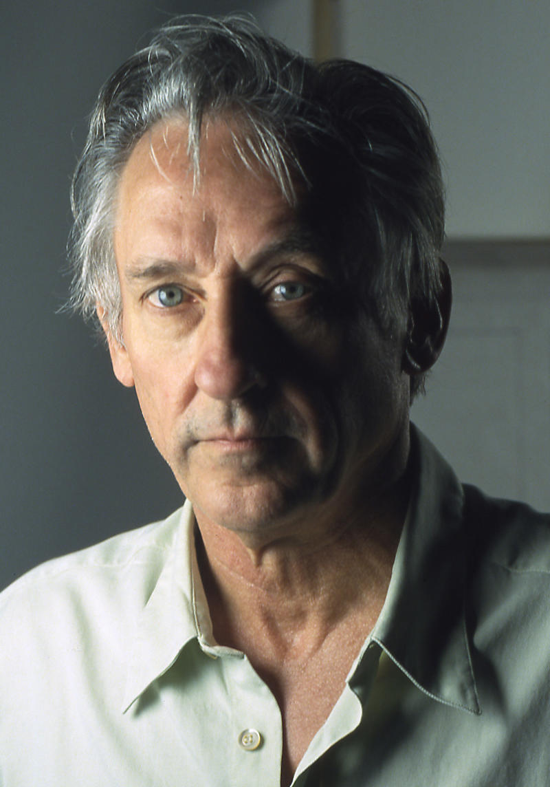 In this 2008 photo released by the Hammer Museum showing artist Ed Ruscha poses for a portrait at his Venice, Calif. studio.    Fifty years after Jack Kerouac rolled a 120-foot scroll of paper into his typewriter and set American literature on its ear with On the Road, a melodic, stream-of-consciousness meditation on America, Ed Ruscha brings a new interpretation to the work, through paintings and photographs. Ed Ruscha: On the Road which opens at the Hammer museum in June, provides a visual translation of the words Kerouac set to paper as he criss-crossed the country in search of post-war America's soul.   (AP Photo/Hammer Museum, Gary Regester)