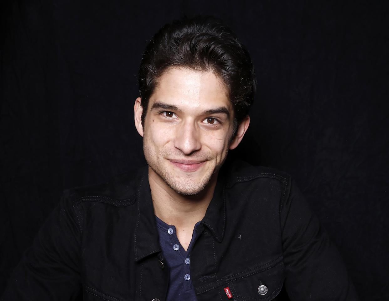 "FILE - In this Jan. 24, 2016 file photo, actor Tyler Posey poses for a portrait to promote the film, ""Yoga Hosers"", at the Toyota Mirai Music Lodge during the Sundance Film Festival in Park City, Utah. (Photo by Matt Sayles/Invision/AP, File)"