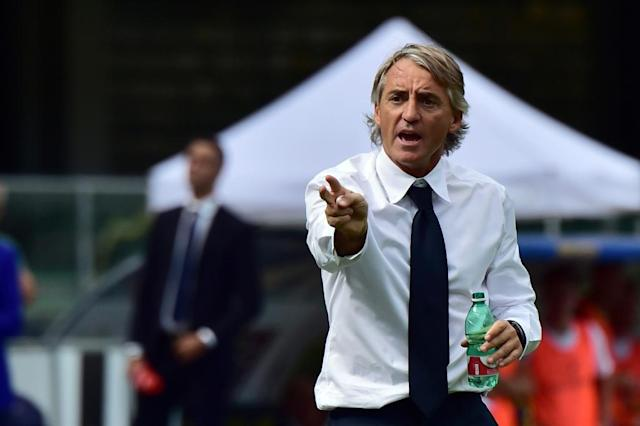 Roberto Mancini, seen here in his Inter Milan days, is the new Italy coach (AFP Photo/Giuseppe CACACE)