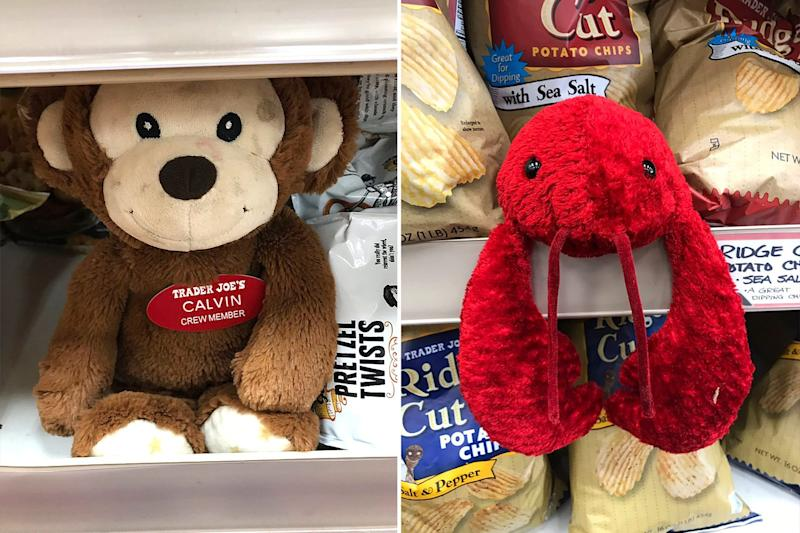 Trader Joe's Hides Stuffed Animals in Most Stores — and If Kids Find Them, They Can Get a Prize