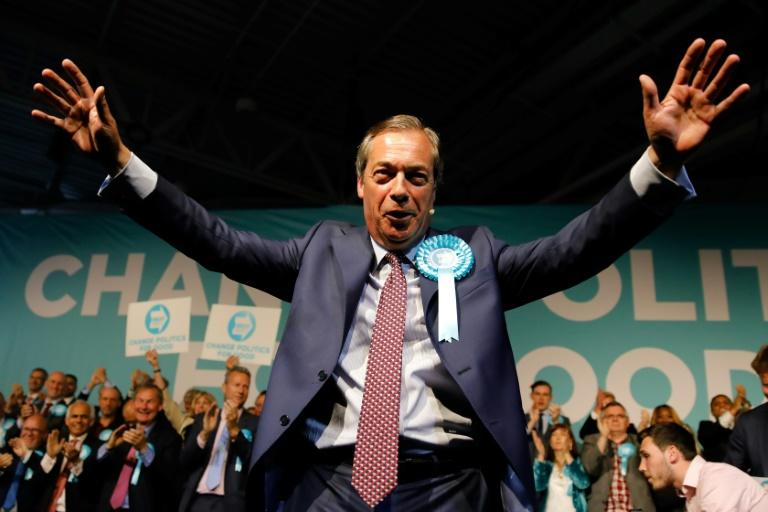 Nigel Farage's Brexit Party is expected to do well in the EU elections