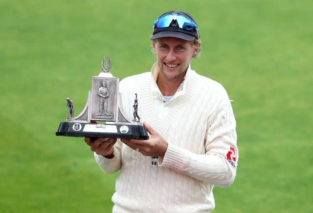 Joe Root is hoping for another series win after lifting the Wisden Trophy in July (Martin Rickett/PA)