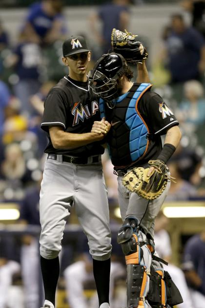 Marlins pitcher Steve Cishek is one of the relievers who works out with Eric Cressey.(Getty Images)