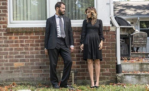 """Dominic West and Jennifer Esposito in a scene from """"The Affair."""" (Showtime)"""
