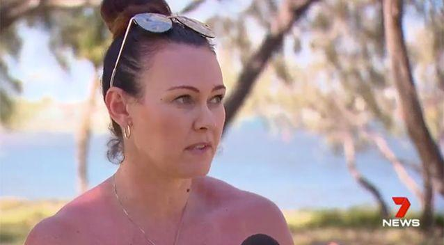 Ms Denham said she had to threaten legal action before something was done to help her. Source: 7 News