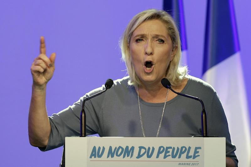 French far right leader Le Pen: Trump win boosts her chances