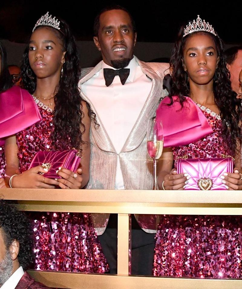 Diddy, Jessie and D'Lila Combs | Kevin Mazur/Getty Images