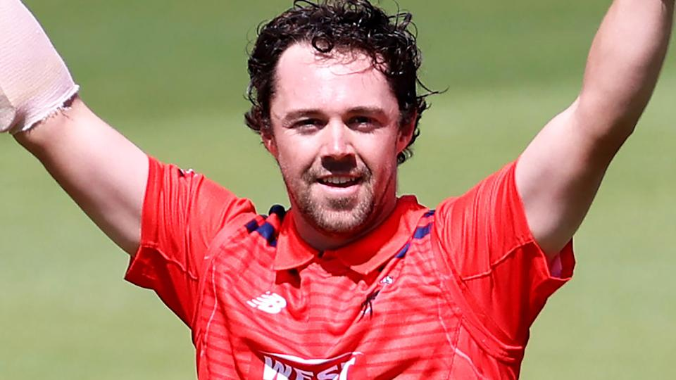 South Australian captain Travis Head belted a historic 230 against Queensland, the second-highest domestic one-day score in Australian history. (Photo by James Elsby/Getty Images)